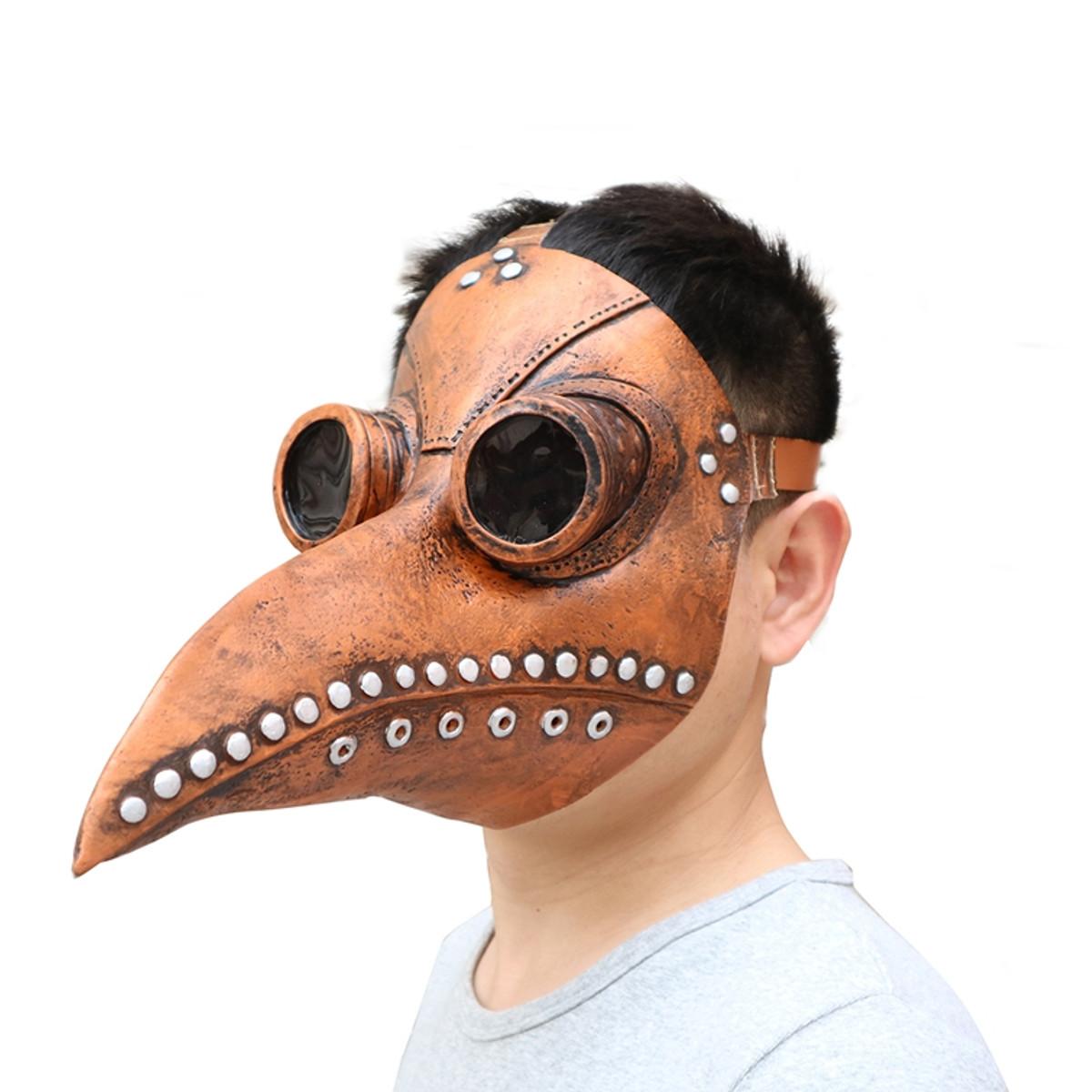Хэллоуин косплей стимпанк чума доктор Маска птица клюв реквизит ретр готика Маскаs - фото 3a5fcfbc-8f6b-45fa-8e3c-c0d4c164be8e.jpg