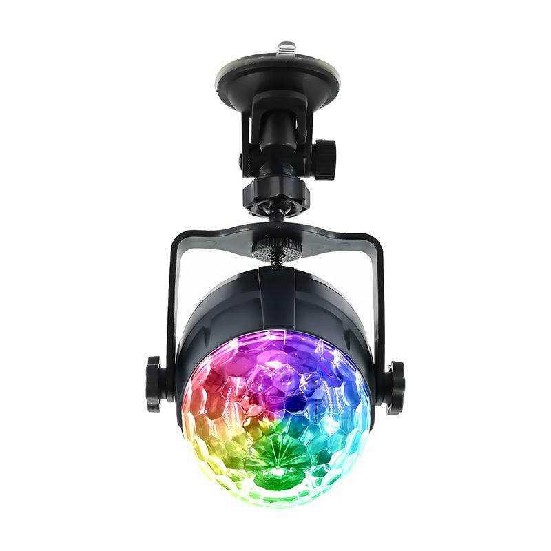 LED RGB Colorful Авто Музыка Свет Звук Атмосфера Этап Лампа с Дистанционный Голосовое управление для DJ KTV Party - фото 1