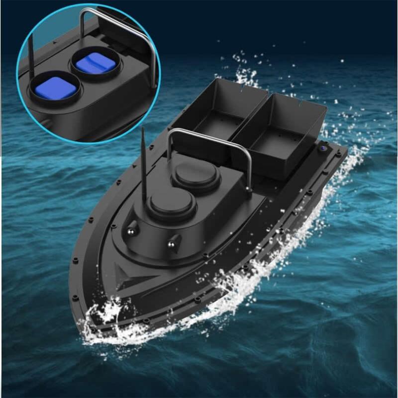 ZANLURE500MetersIntelligentДистанционноеУправление Двойная кабина Рыбалка RC Лодка На открытом воздухе Многофункцио - фото 7