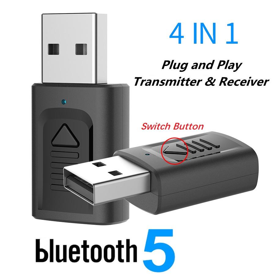 IMars M135 Bluetooth 5.0 4-в-1 Аудио Беспроводной Приемник Передатчик Стерео AUX RCA Разъем USB 3,5 мм для ТВ ПК Авто Ад - фото 2