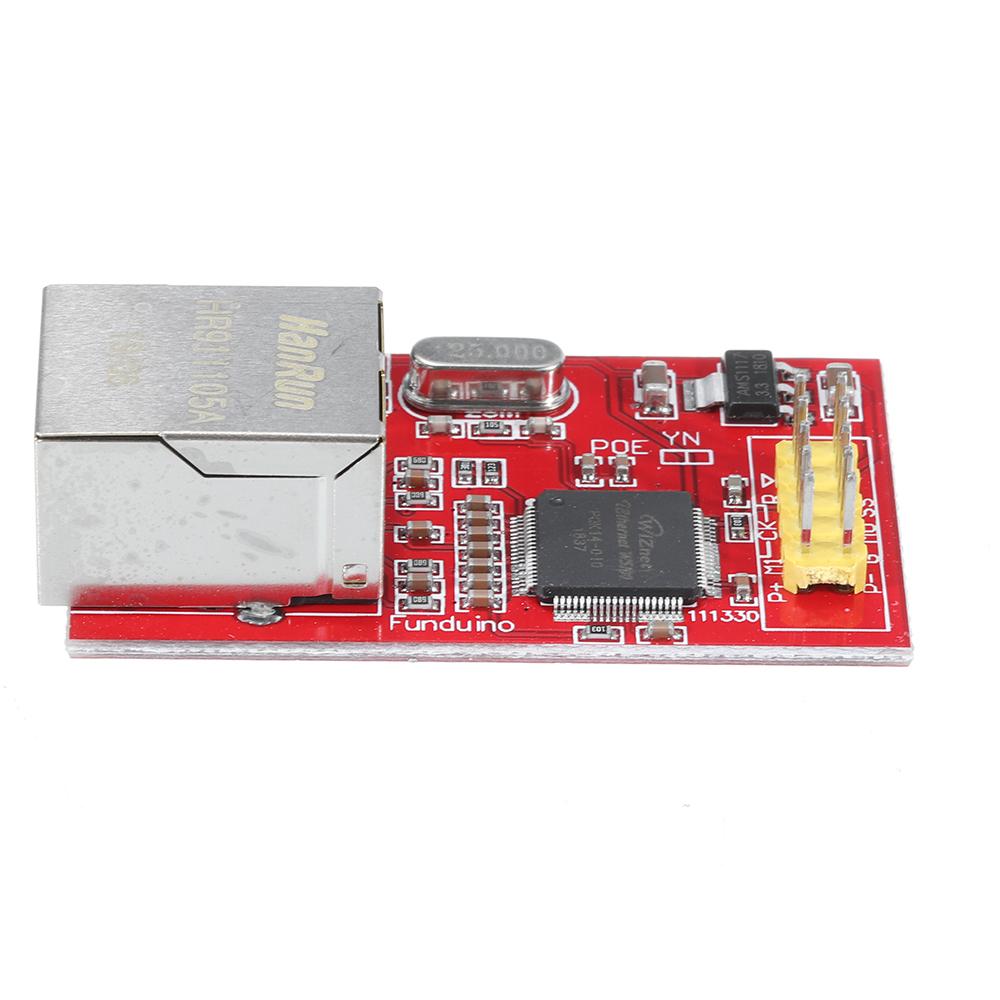 Миниая сетевая плата W5100 Ethernet Shield для - фото 5