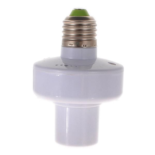 E27 Wireless Дистанционное Управление Лампа Набор держателей белый - фото 5