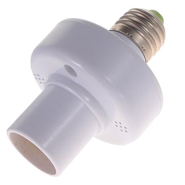E27 Wireless Дистанционное Управление Лампа Набор держателей белый - фото 6