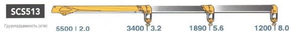 HINO 500 с КМУ Soosan SCS 513 - фото Screenshot_1