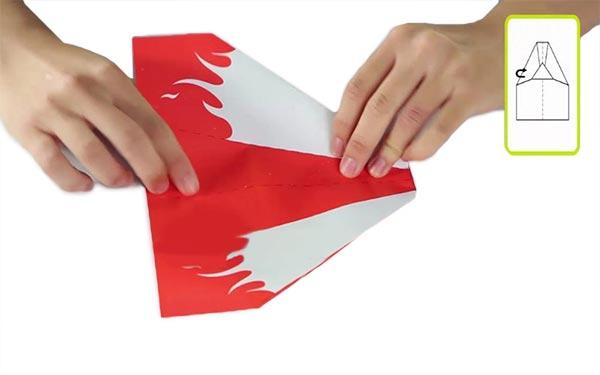 Складывая электроэнергии бумаги самолеты набор преобразования игрушка в подарок - фото 5