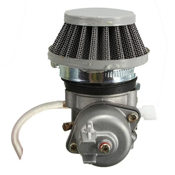 Карбюратор карбюратор+воздушный фильтр стека 47cc 49см мини квадроцикл мото Байк - фото 7