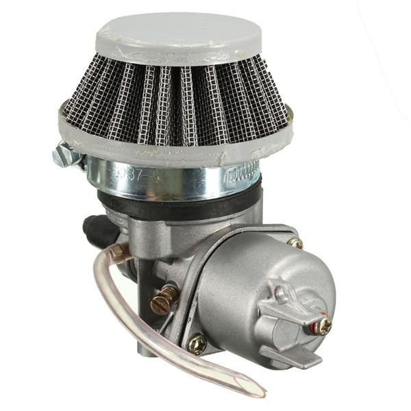 Карбюратор карбюратор+воздушный фильтр стека 47cc 49см мини квадроцикл мото Байк - фото 6