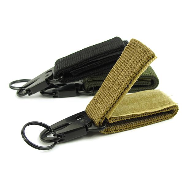 карабин крючок пряжки ремня нейлона Молл висит брелок открытый инструмент (4)