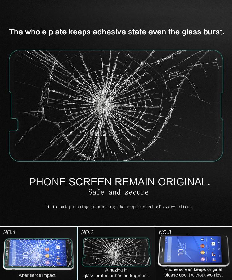 Металлический сек анти-взрыва стекла протектор экрана для сони Xperia Е4 - фото 9