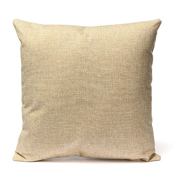 cotton linen pillow case