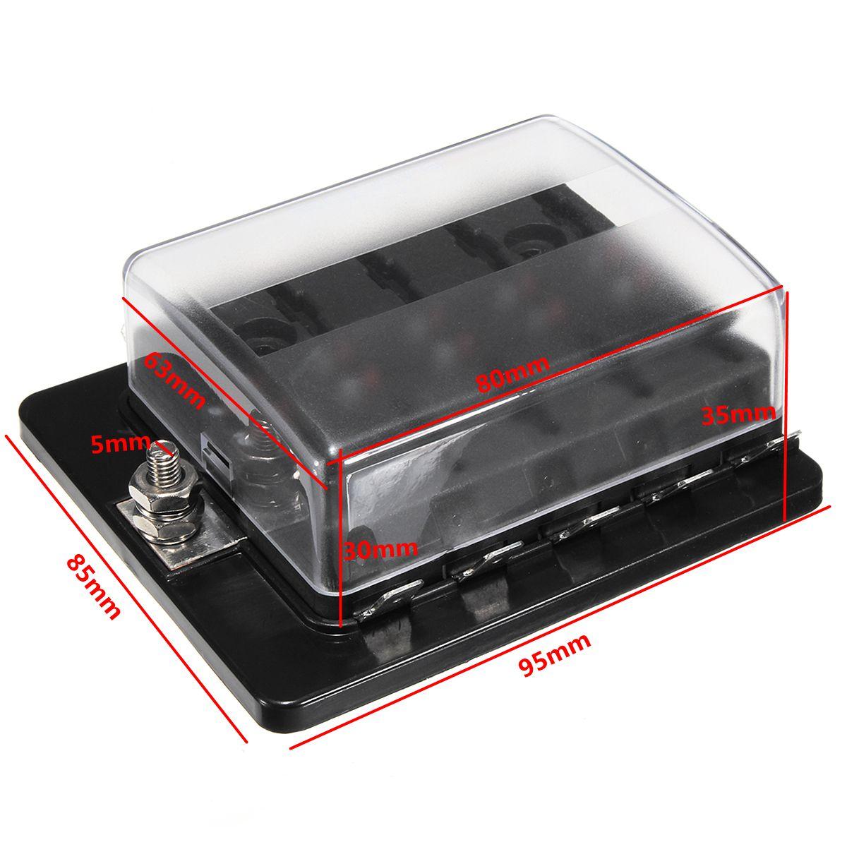 12V-32V 10 Way Blade Fuse Коннектор Держатель Коробка 5-30A с LED Предупредительный световой сигнал Набор Набор для Авто - фото 78205b08-9ffa-4a93-af8f-49948d01d870.jpg