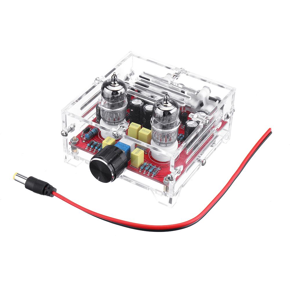XH-A201 HiFi 6J1 Трубка Плата предусилителя класса A Усилитель Аудио готовая плата предусилителя с Crystal Shell - фото 4f6d0150-8b14-430c-b705-f2eea81695d2.JPG