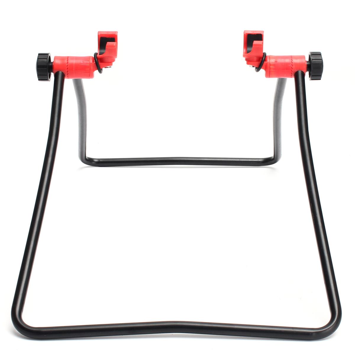Велосипед стоять парковки подставка foldind колесо подставка для стойки регулируемые - фото 3