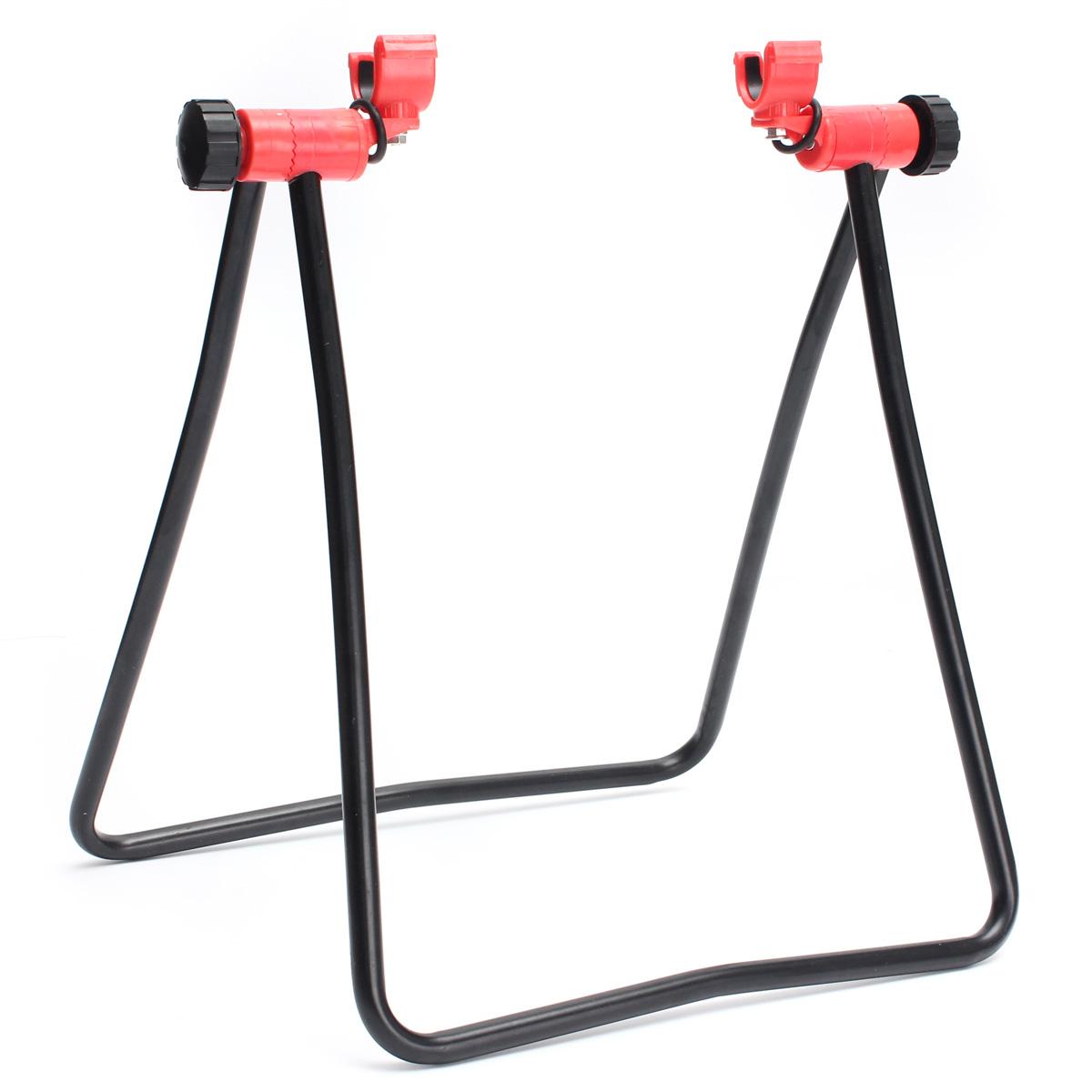 Велосипед стоять парковки подставка foldind колесо подставка для стойки регулируемые - фото 4
