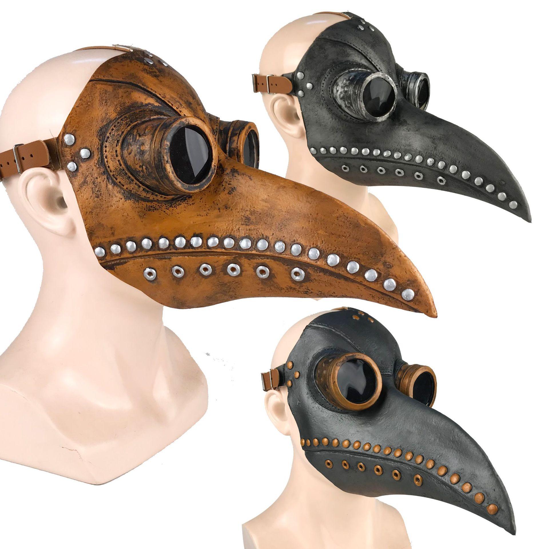Хэллоуин косплей стимпанк чума доктор Маска птица клюв реквизит ретр готика Маскаs - фото 9813b47e-7a07-4e97-b457-a4d7de3edf23.jpg